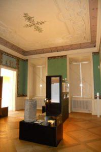 In den Räumen des Erdgeschosses ist die Ausstellung zur Schlossgeschichte untergebracht.