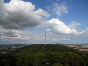 Blick auf den benachbarten Schafberg