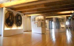 Ein Blick in die Ausstellung über Stadtgeschichte im Malzhaus