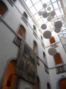 Ein Blick ins Innere des Rathauses