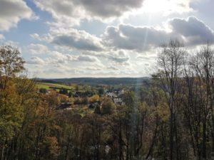 Blick ins Zschopautal auf Braunsdorf