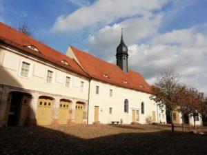 Schlosskapelle und Galerie für Angewandte Kunst im Schlosshof
